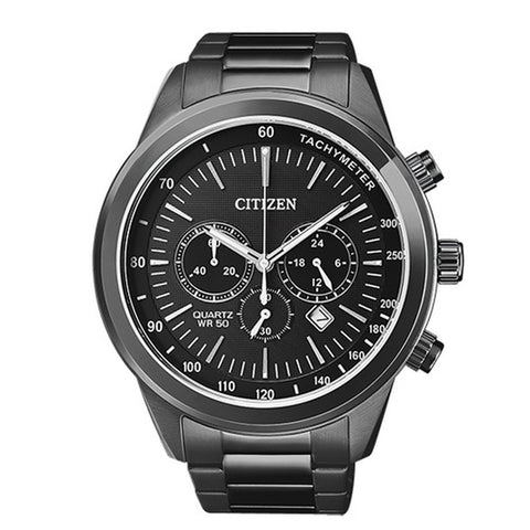 Citizen Men's Black Stainless Steel Watch AN8155-52E