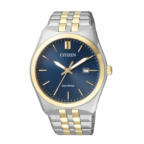 Citizen Men's Business Eco-Drive Analog Stainless Steel Watch BM7334-66L