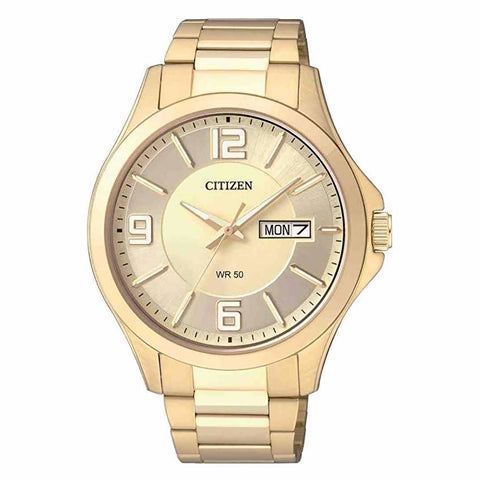 Citizen Men's Gold  Stainless Steel Watch BF2003-50P