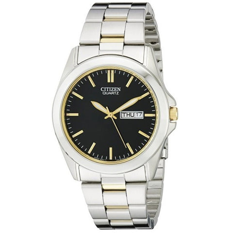 Citizen Men's Silver Gold Two Stainless Steel Watch BF0584-56A