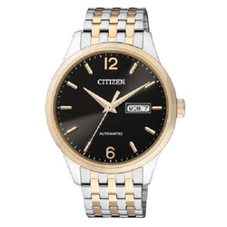 Citizen Men's Silver Stainless Steel Automatic Watch NH7504-52E