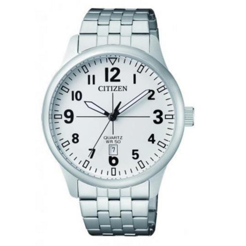 Citizen Men's Silver Stainless Steel band Watch BI1050-81B