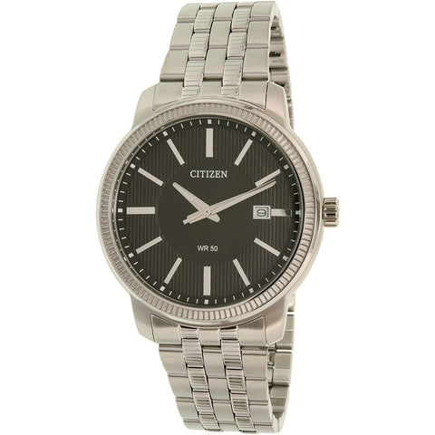 Citizen Men's Silver Stainless Steel Quartz Watch BI1081-52E
