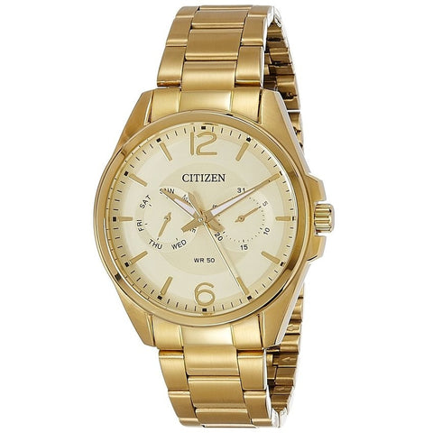 Citizen Men's Staineless Steel Gold Watch AG8322-50P