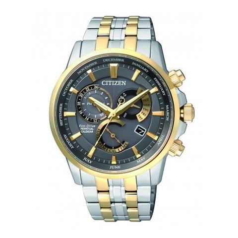 Citizen Men's Two Tone Silver Gold Stainless-Steel Watch BL8144-89H