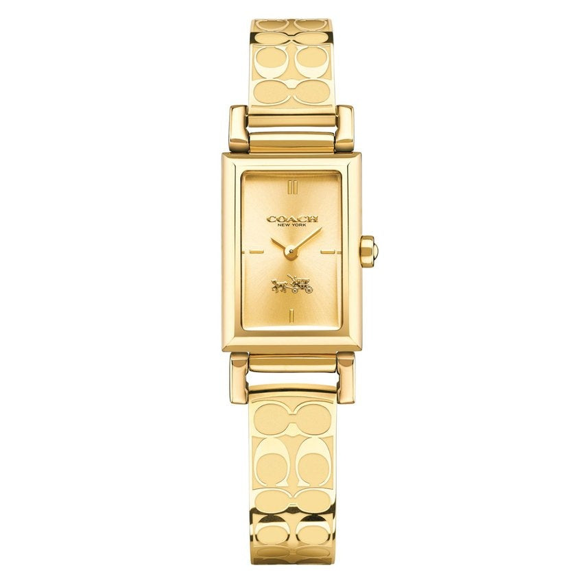 Coach 14502121 Ladies Madison Fashion Analog Dress Quartz Gold Watch