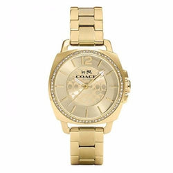 Coach 14502147 Ladies Boyfriend Analog Dress Quartz Watch