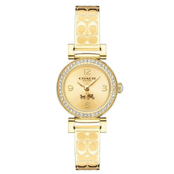 Coach 14502202 Ladies Madison Fashion Analog Dress Quartz Gold Watch