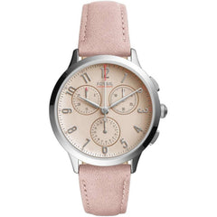 FOSSIL Abilene Pink Dial Ladies Chronograph Watch CH3088