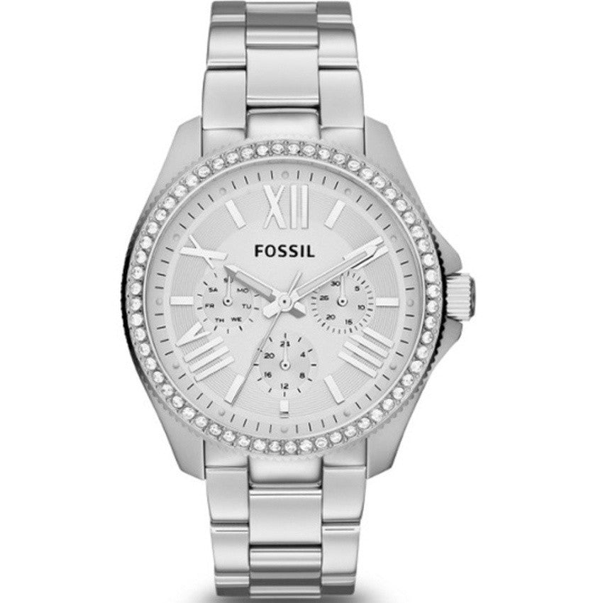 Fossil Ladies Cecile Multifunction Stainless Steel Watch AM4481