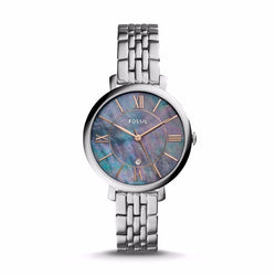 Fossil Ladies JACQUELINE THREE-HAND DATE STAINLESS STEEL WATCH