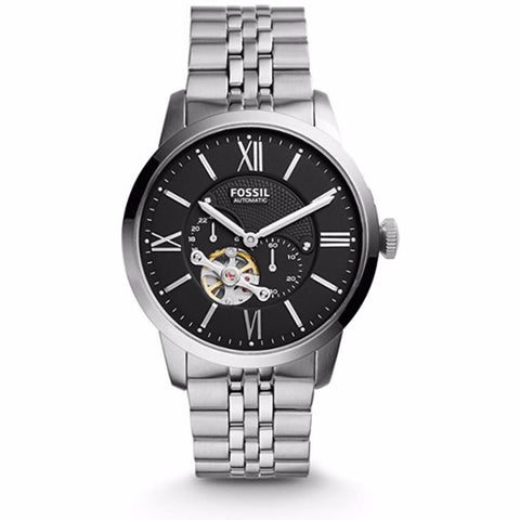 Fossil TOWNSMAN AUTOMATIC STAINLESS STEEL WATCH ME3107