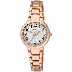 Q&Q By Citizen Ladies Rose Gold Stainless Steel Analog Watch F499J004Y