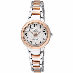 Q&Q ELEGANT Two Tone Ladies Watch F499J414Y