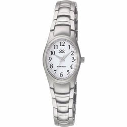 Q&Q F279J204Y by Citizen Silver Stainless Steel White Dial Analog Watch