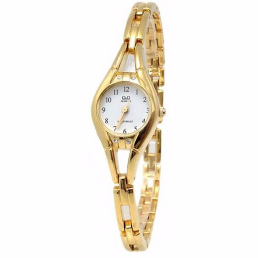 Q&Q F315-004y by Citizen Gold Stainless Steel White Dial F315-004Y