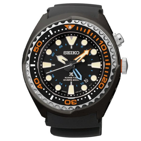 Seiko Men's Diver Resin Strap Watch SUN023P1