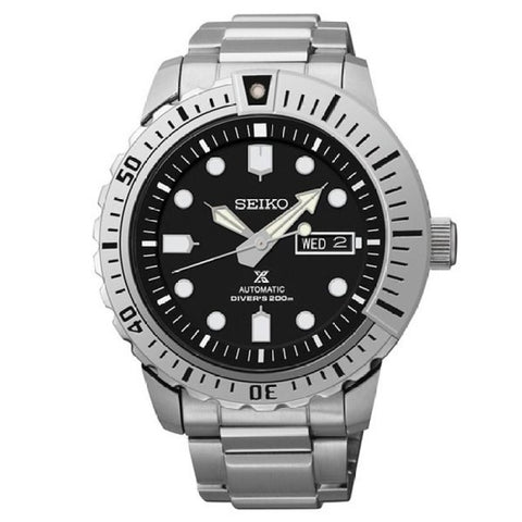 Seiko Men's Stainless Steel Divers Watch SRP585K1