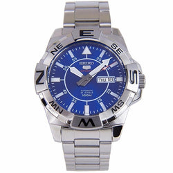 Seiko SRPA61 SRPA61K1 Automatic Blue Dial Stainless Steel WR100m Sports Watch