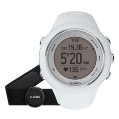 Suunto Ambit3 Sport White (HR) GPS Watch + Heart Rate Monitor SS020680000
