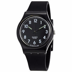 SWATCH Black Suit Black Dial Ladies Watch GB247T