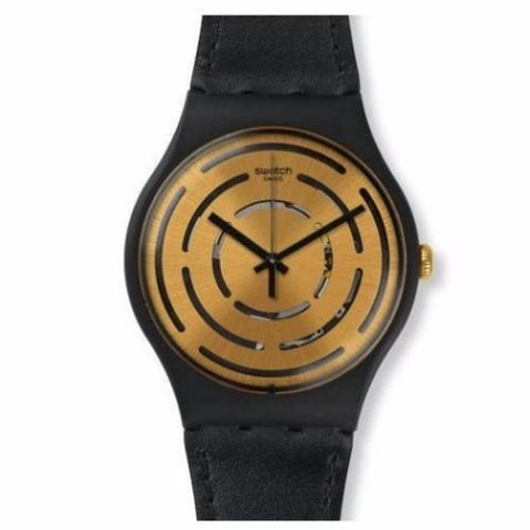 Swatch Men's Seeing Circle Silicone Strap Watches SUOB126