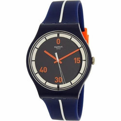 Swatch Women's Center Court Silicone Strap Watches SUOZ221