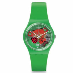 Swatch Women's Choupette Silicone Strap Watches GG220