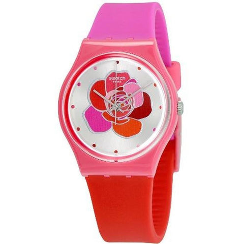 Swatch Women's Only for You Silicone Strap Watches GZ299