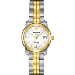 TISSOT PR 100 QUARTZ LADY STEEL T0492102201700 T049.210.22.017.00