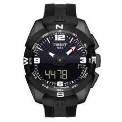 Tissot T091.420.47.057.01 T-Touch Expert Solar Men's Analog Digital Watch(Black)