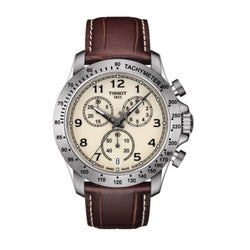 Tissot T106.417.16.262.00 T-Sport V8 Chronograph Tachymeter Men's Watch(Brown)