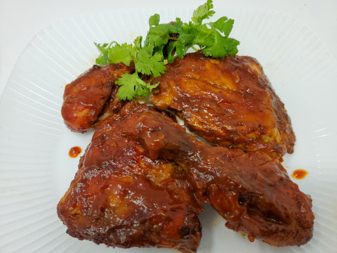 Alima's Oven-Baked BBQ Style Chicken
