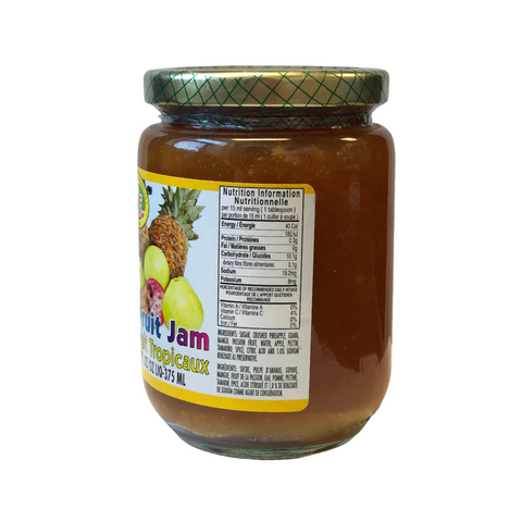 Irie Tropical Fruit Jam  375 ml