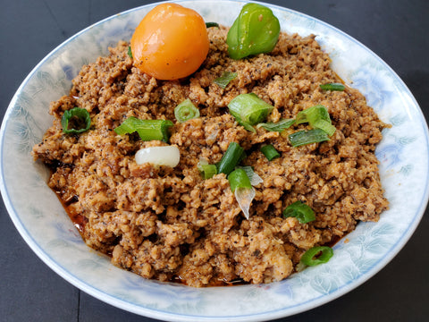 Alima's Sauteed Minced Chicken