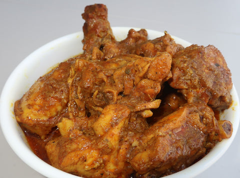 Curried Chicken (with bone)