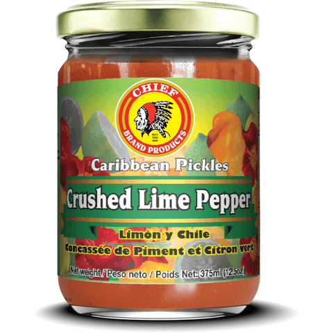 CHIEF - Crushed Lime Pepper 375 ml