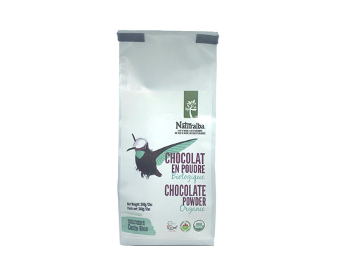 Naturalba Organic Chocolate Powder - Costa Rica
