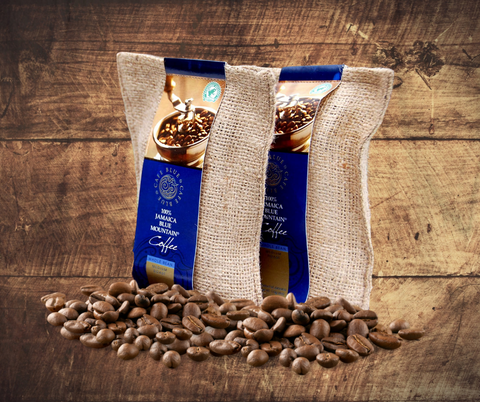 Cafe Blue Jamaica Blue Mountain Coffee Beans - 1 - 8oz bag