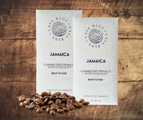 Cafe Blue Jamaica Blue Mountain White Chocolate