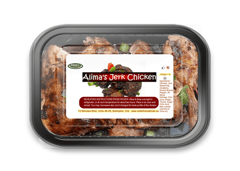 Alima's Jerk Chicken - Medium Spiced
