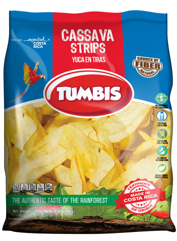 Cassava Strips by Tumbis - Costa Rica
