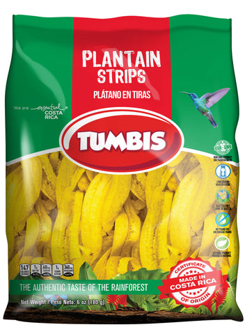 Green Plantain Strips by Tumbis - Costa Rica