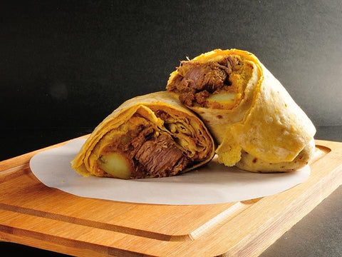 Ready Wraps Beef on Dhalpuri