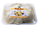 Beef Pies (Ready to Bake) - 6 Pies