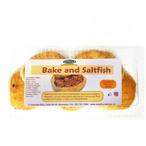 Bake and Saltfish - 5 pk.