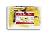 Chicken Pies - Baked-  12 pieces (frozen)