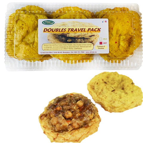 "Doubles 6 Pieces Travel Pack ""Hot"""