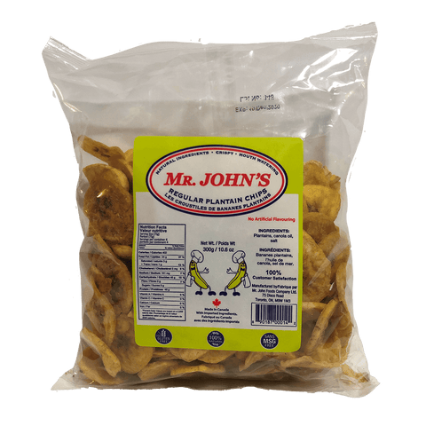 Mr John's Plantain Chips - 200g