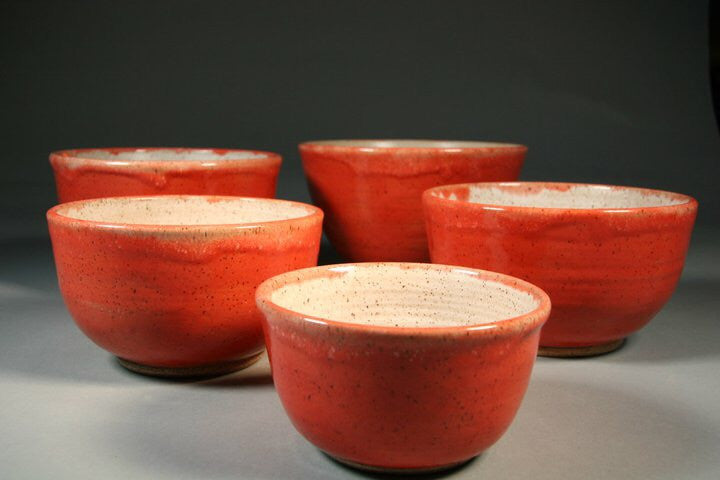 Orange bowls